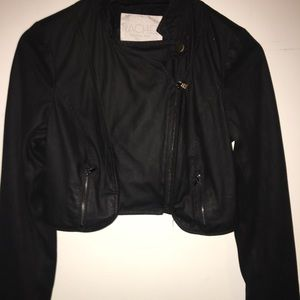 Racheal Roy moto jacket